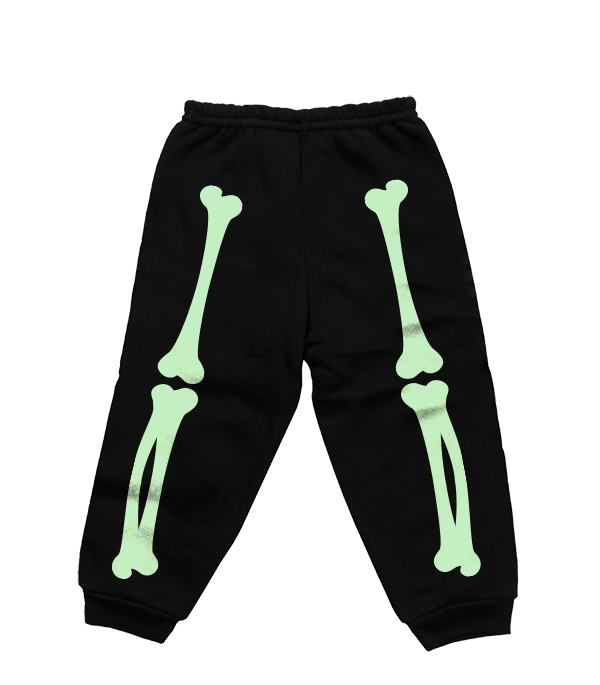 X-RAY SWEATPANTS (BLACK/GLOW)