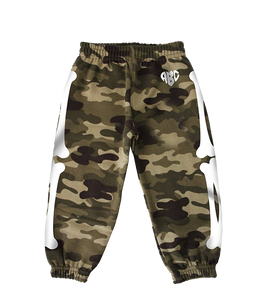 X-RAY SWEATPANTS (CAMO/WHITE)