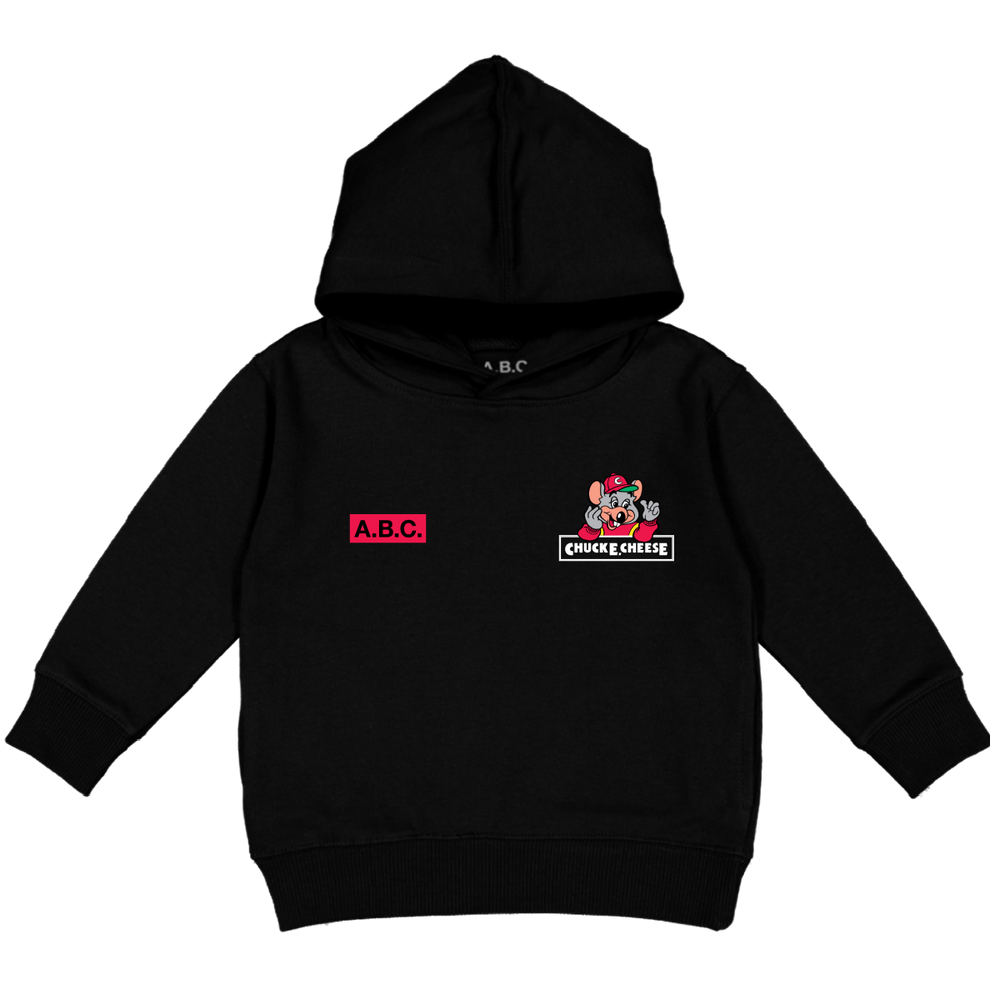 CHUCK E. CHEESE® HAPPY BIRTHDAY HOODY (BLACK)