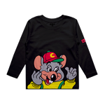 CHUCK E. CHEESE® BE A KID L/S (BLACK)