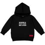 CHUCK E. CHEESE® LOGO HOODY (BLACK)