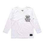 G.R.E. LONG SLEEVE (WHITE)