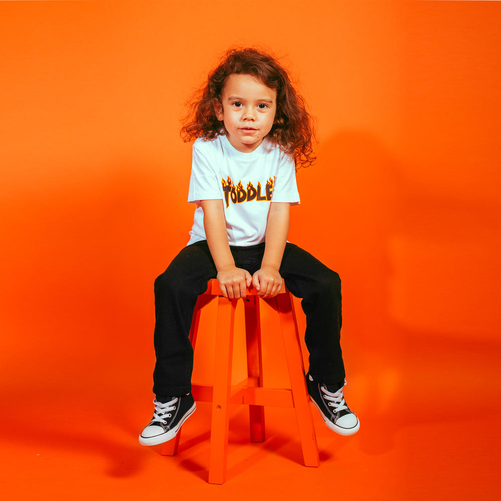 TODDLER TEE (WHITE)