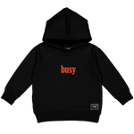BUSY LIVING HOODY(BLACK)