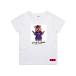 CHUCK E. CHEESE® PIZZA KING TEE (WHITE)