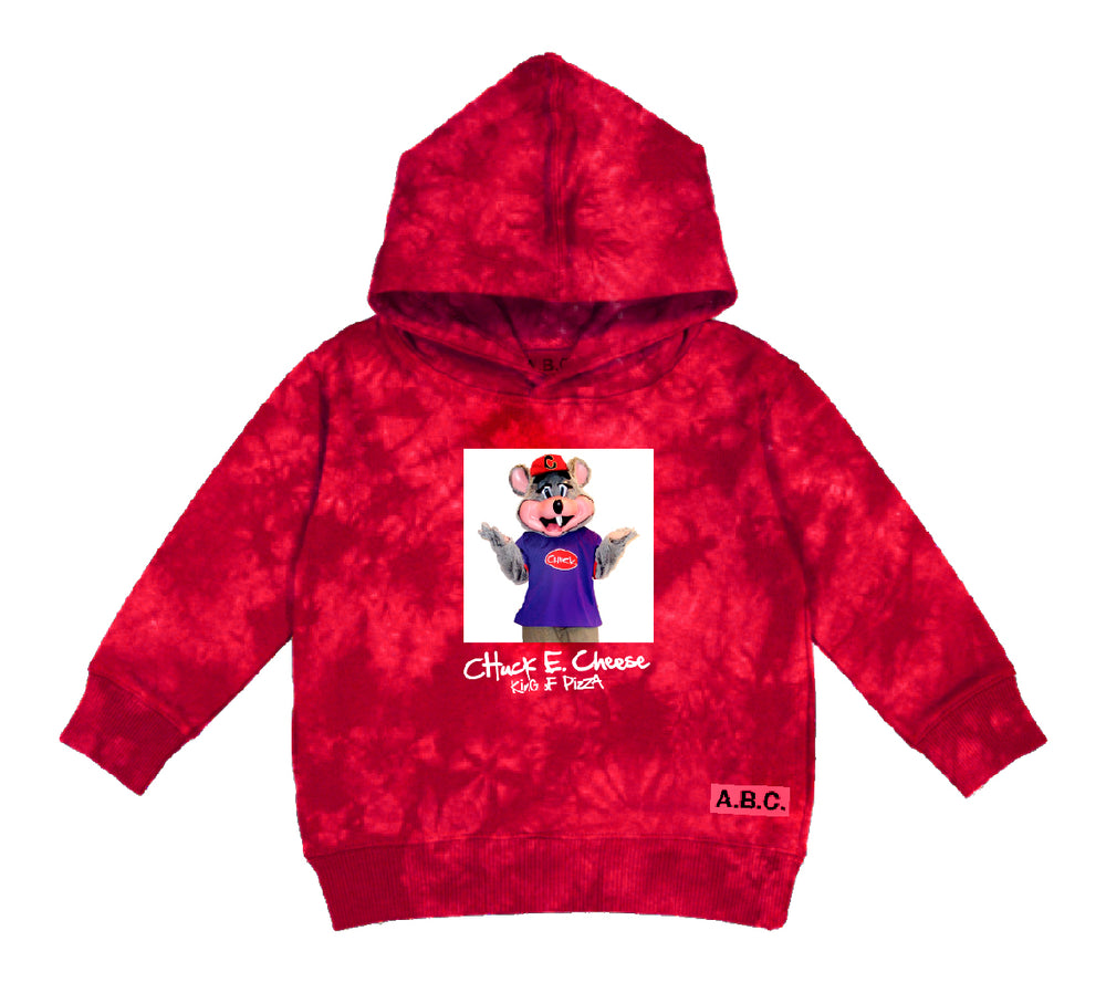 CHUCK E. CHEESE® PIZZA KING  HOODY (RED)