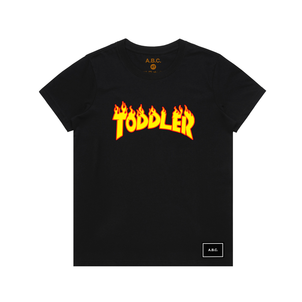 TODDLER TEE (BLACK)