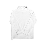 WAVY TURTLENECK (WHITE)