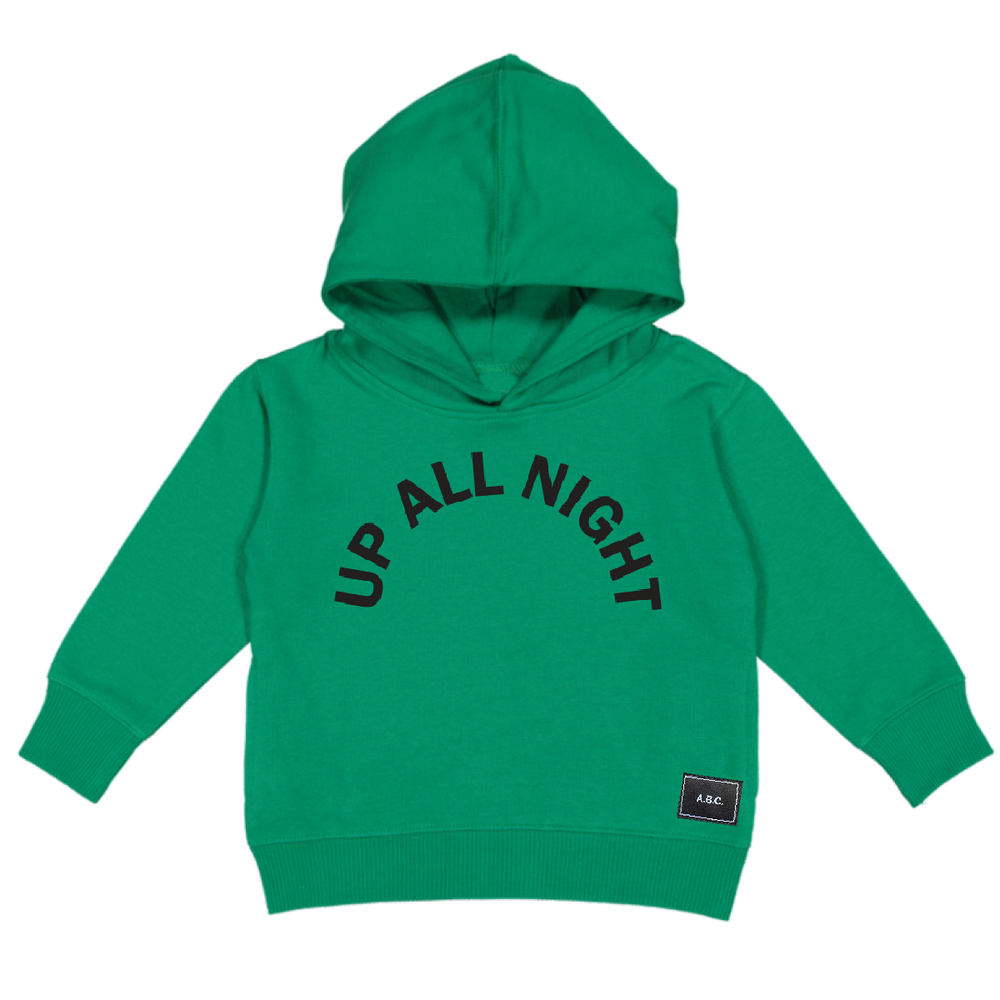 UP ALL NIGHT HOODY (GREEN)