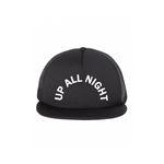 UP ALL NIGHT HAT (BLACK)