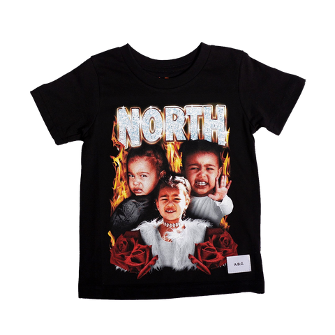 NORTH TEE (BLACK)