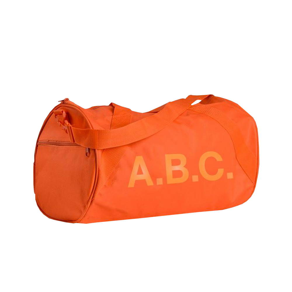 A.B.C. DUFFLE BAG (ORANGE)