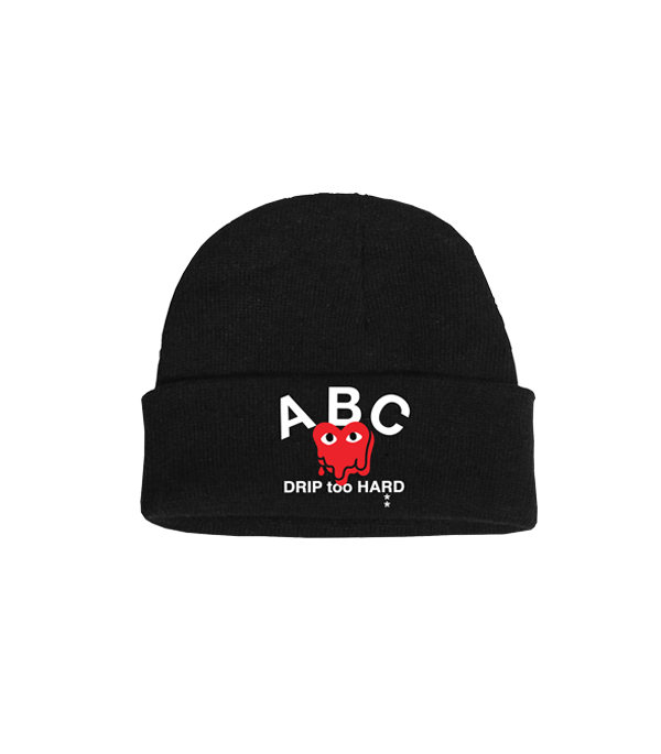 DRIP TOO HARD BEANIE (BLACK)