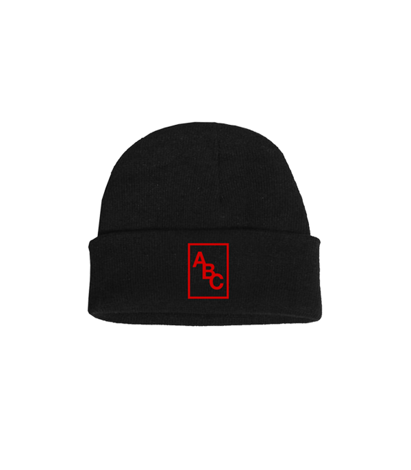 COUNTING THINGS BEANIE (BLACK)