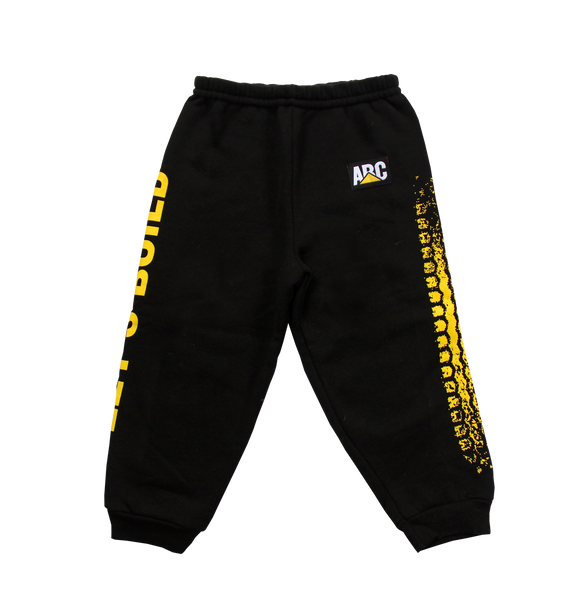 LET'S BUILD SWEATPANTS (BLACK)