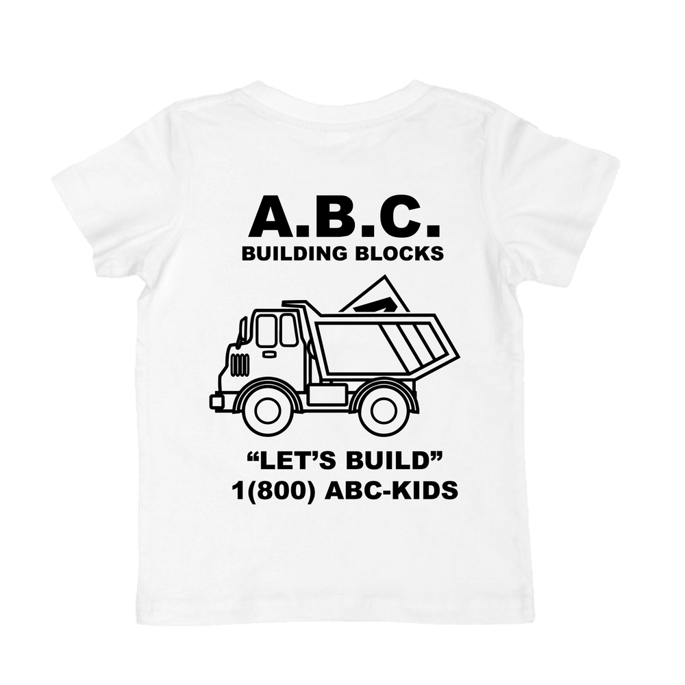 LET'S BUILD TEE (WHITE)