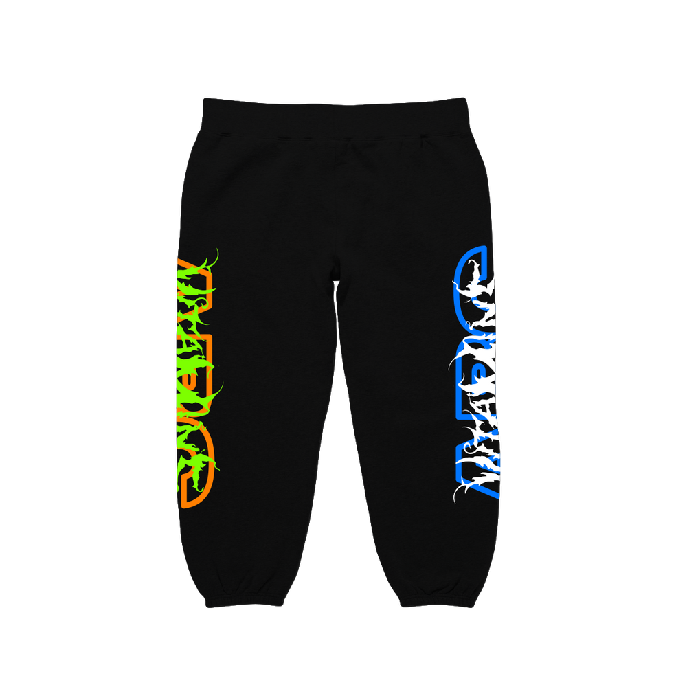 VITAMINS 2.0 SWEAT PANTS (BLACK)
