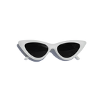 CRUELLA SUNGLASSES (WHITE)