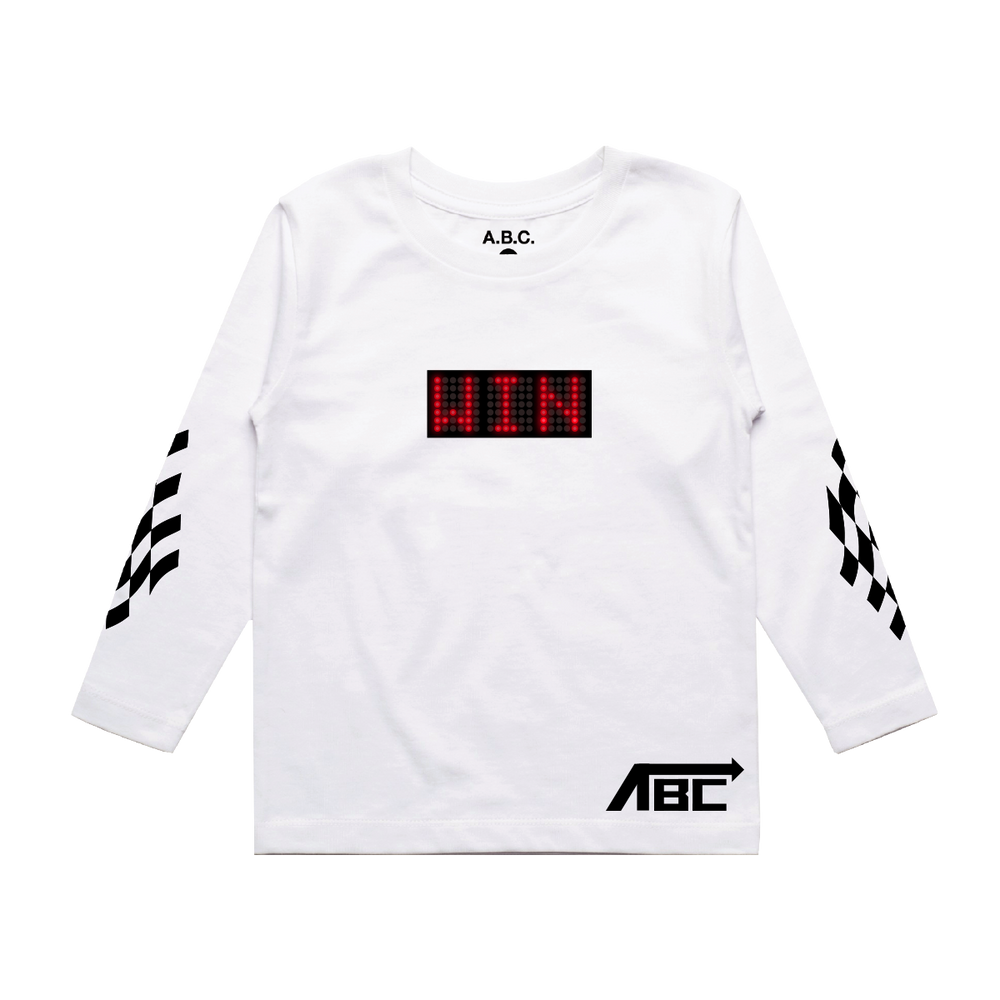 WIN LONG SLEEVE (WHITE)