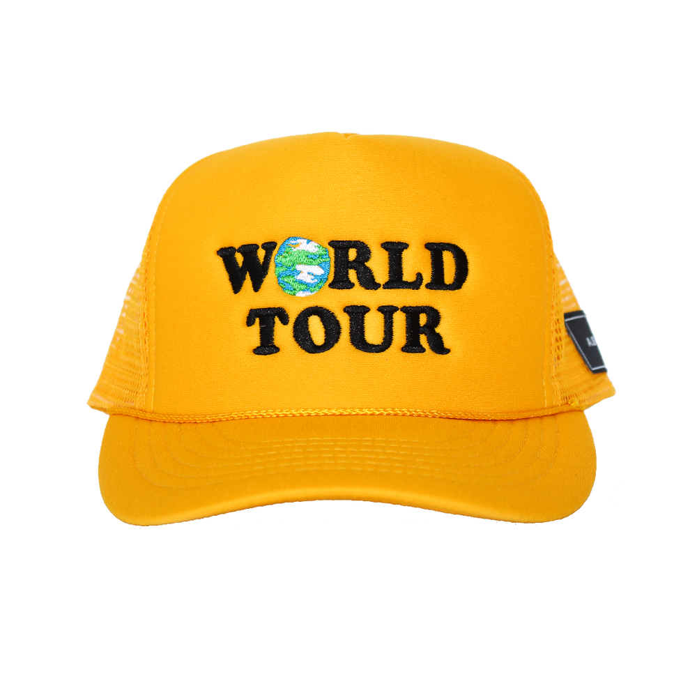 WORLD TOUR HAT (YELLOW)