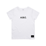 CORE TEE (WHITE/BLACK)