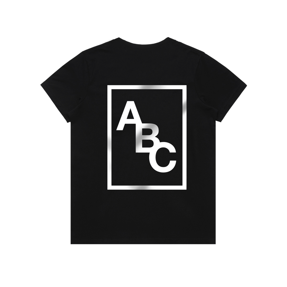 CORE TEE (BLACK/WHITE)