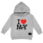 I LOVE MOMMY HOODY (GREY)