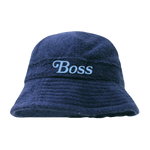 BOSS BUCKET HAT (NAVY)