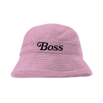 BOSS BUCKET HAT (PINK)