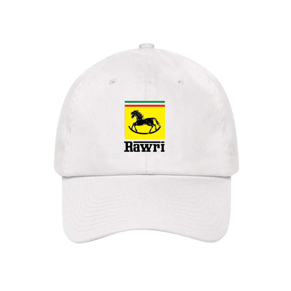 RAWRI DAD HAT (WHITE)
