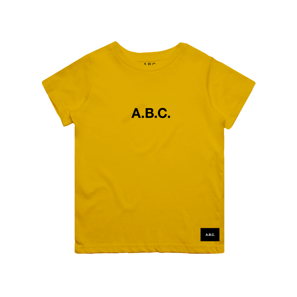 CORE TEE (YELLOW/BLACK)