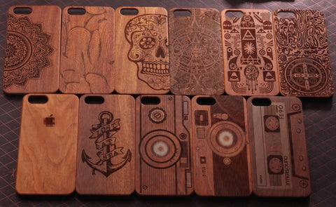 Natural Wooden Cool iPhone cases