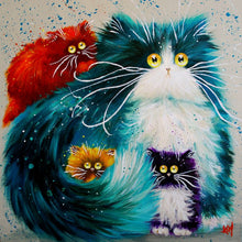 Paint By Numbers Acrylic Oil Painting | Cats 🐈