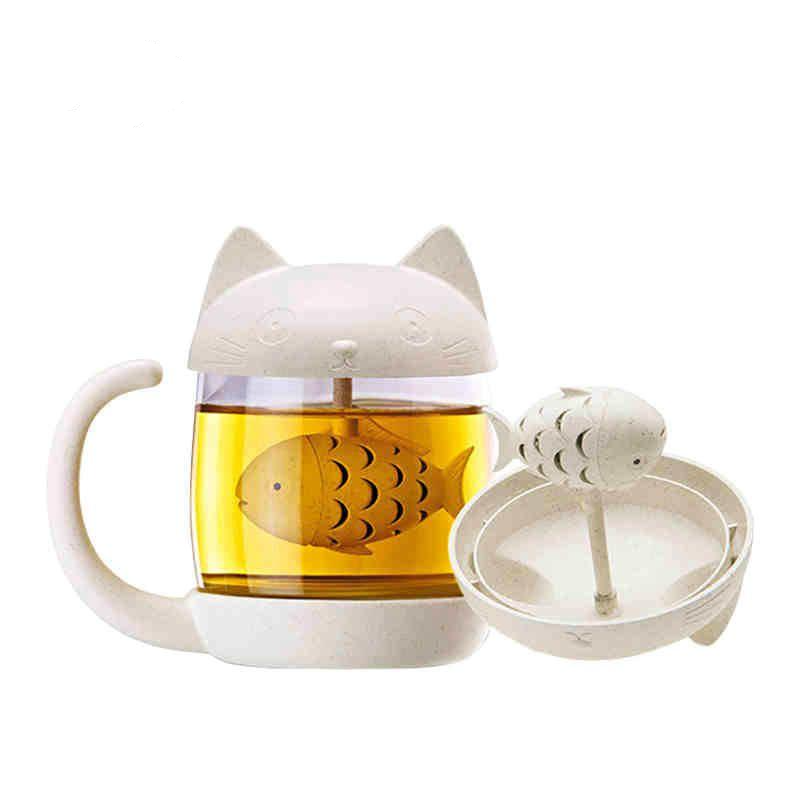 Cute Cat Tea Infuser Cup