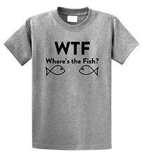 WTF Where's The Fish? T-Shirt for Men [Free Shipping]