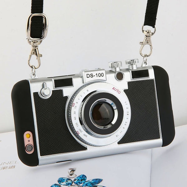 3D Retro Camera iPhone Case