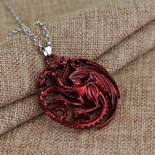 Dragon Game of Thrones Necklaces & Pendant (3 Colors)