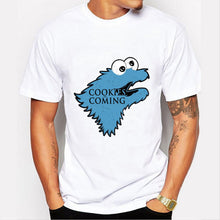 """Cookies Are Coming"" Game of Thrones Funny Cookie Monster T-shirt"