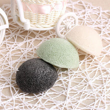 Konjac Sponge Exfoliating Facial Sponges with Activated Bamboo Charcoal