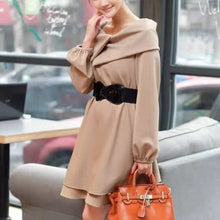 Women Blends Fashion Long Sleeve Coat S/M/L/XL