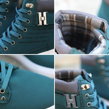 Mr.Choc Mens Shoes New Arrival Retro Style Casual High Top Sneakers Canvas Shoes