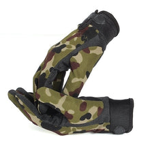 Men Outdoor Sports Mittens Fashion Camouflage Military Tactical Airsoft Shooting Hunting Full Finger Gloves