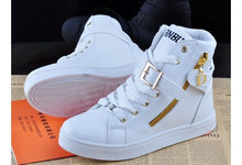 Spring Fashion High-top Solid Color Zip Lovers Sneakers Cotton ShoesFlat Canvas  Men  Shoes ( EUR SIZE )
