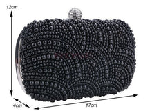 Women Clutch Bag Beaded Party Bridal Wedding Evening Purse Handbag SV007959|27701