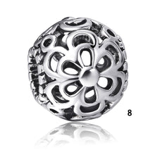 Openwork European charm beads For 925 sterling silver Bracelets Necklaces Bangles