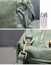 New Arrive Women Shoulder Bag Nubuck Leather Vintage Messenger Bag Retro Motorcycle Women's Bag