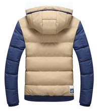 Men's Fashion Casual Thickened Padded Coat
