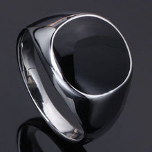 Top Sale Cool Men Concise Fashion Jewelry 316L Titanium Stainless Steel Ring 18K Gold Plated Finger Ring Accessories for Men Prom Party Gift