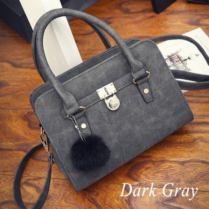 Lady PU Leather Shoulder Bag Totes Purse Messenger Handbag