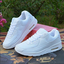 Women's Increased Within Sneaker Trainers Platform Air Cushion Jogging Sports Shoes